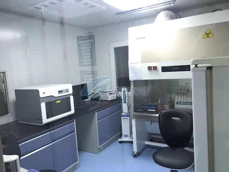 Zenva four PCR laboratories were put into use after acceptance